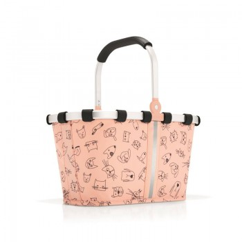 Carrybag Kids XS cats & dogs rose