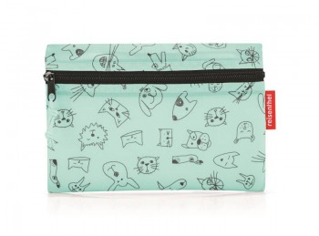 Dufflebag S Mini Maxi Kids cats & dogs mint